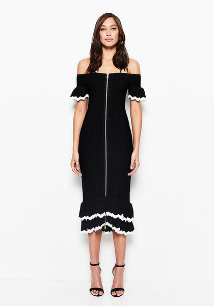Alice McCall Just Because Dress Black