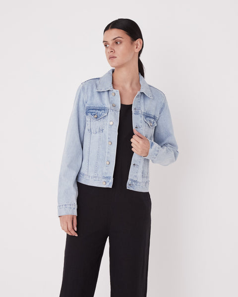 Assembly Label Femme Denim Jacket - Pacific Blue