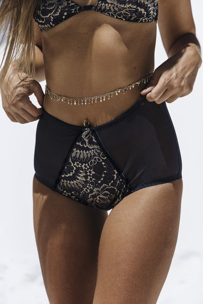 Kat The Label Illusion High Waist Brief