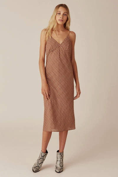 The Fifth Longitude Check Dress
