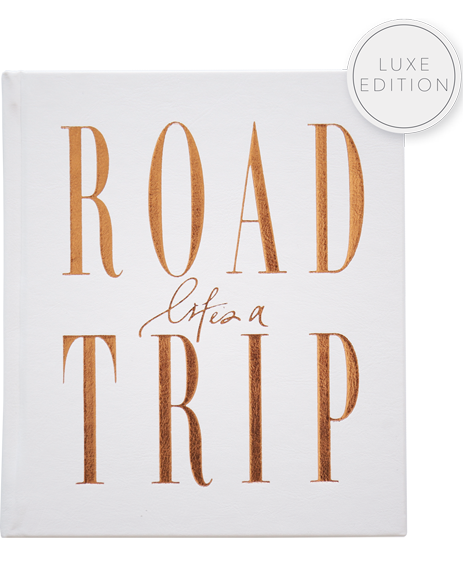 Axel & Ash Life's A Roadtrip Book- White