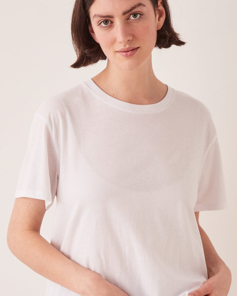 Assembly Label Crew Tee - White