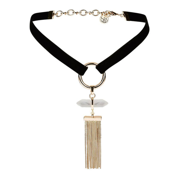 Samantha Wills Dawns Exhale Choker Gold