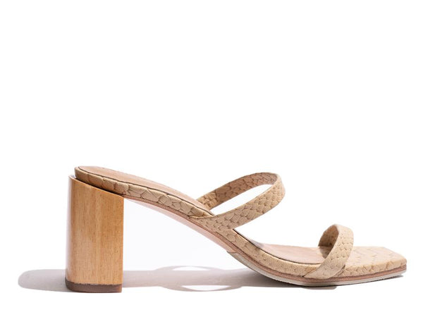 James Smith Sirenuse Strap Sandal - Crema