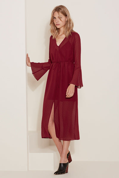 The Fifth Sweet Memories Long Sleeve Dress