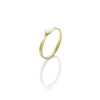 Krystle Knight Shining Moon Ring - Brass