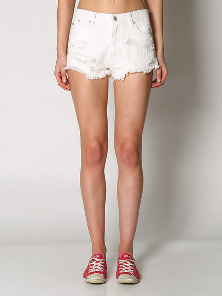 Res Denim Tiny Dancer Cutoff Shorts Whitewalker
