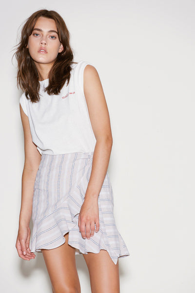 The Fifth Voyage Skirt- Sand White