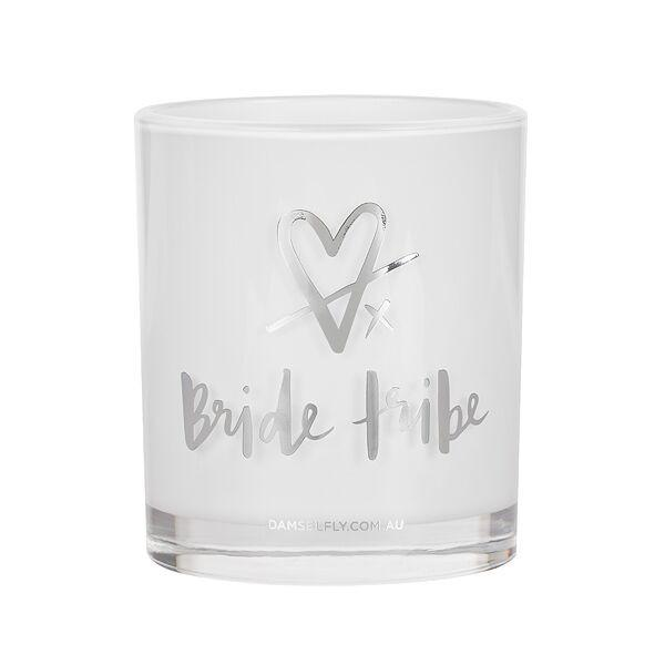 Damselfly Candle L - Bride Tribe Silver