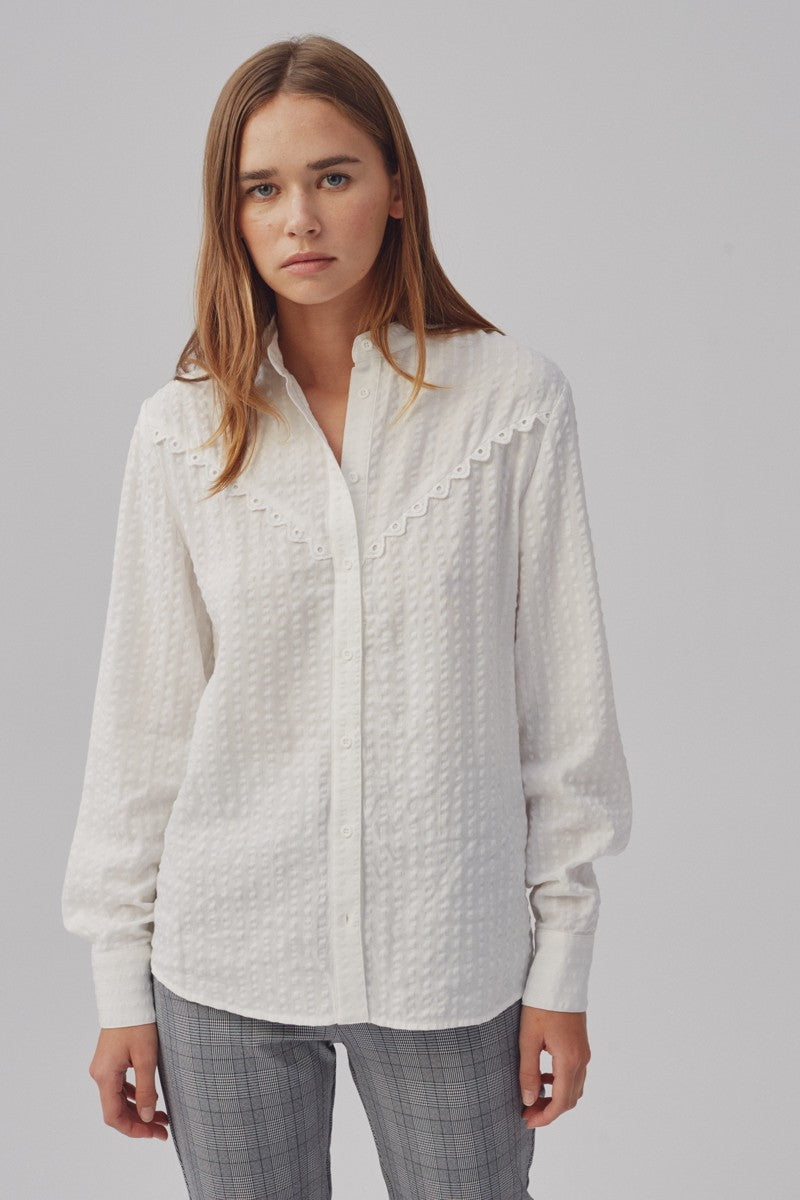 The Fifth Context Shirt - Ivory