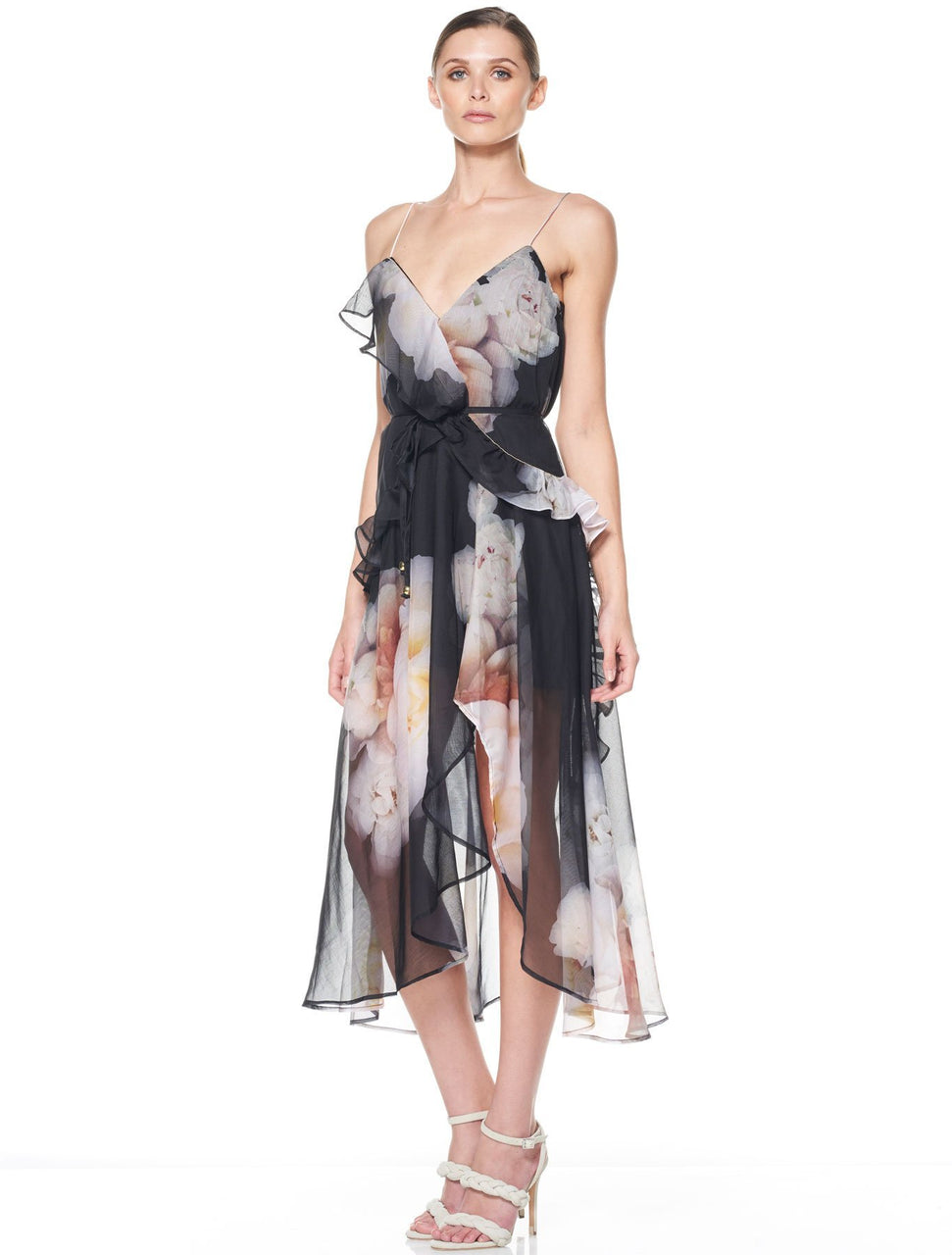 Talulah Lucille Floral Midi Dress