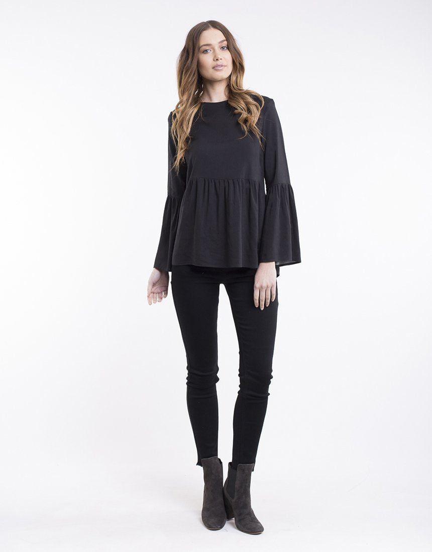 All About Eve Gabriela Top - Black