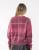All About Eve Criss-Cross Knit - Plum