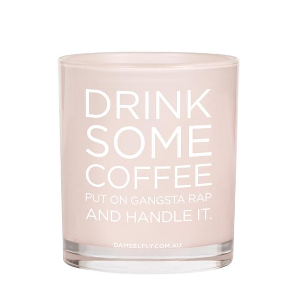 Damselfly Candle XL - Drink Some Coffee