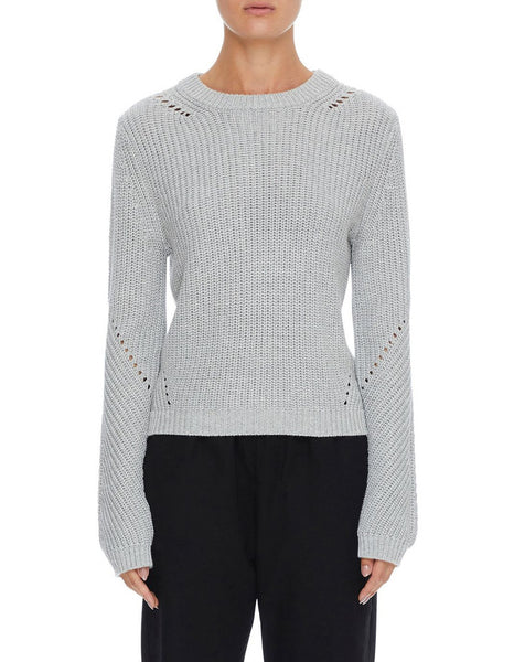 Nude Lucy Ames Classic Knit - Grey Marle