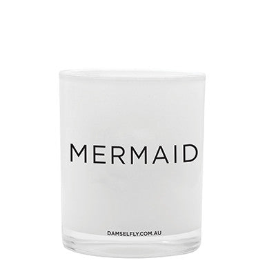 Damselfly Candle L- Mermaid