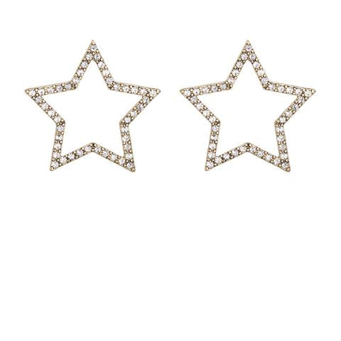 Kitte- Seeing Stars Earrings- Gold