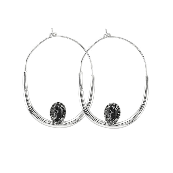 Samantha Wills Wildest Dreams Hoop Earrings - Silver