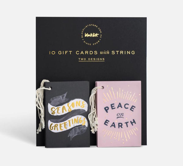Blacklist Christmas Gift Card Set