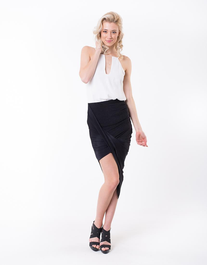 Jorge Bradshaw Twist Skirt