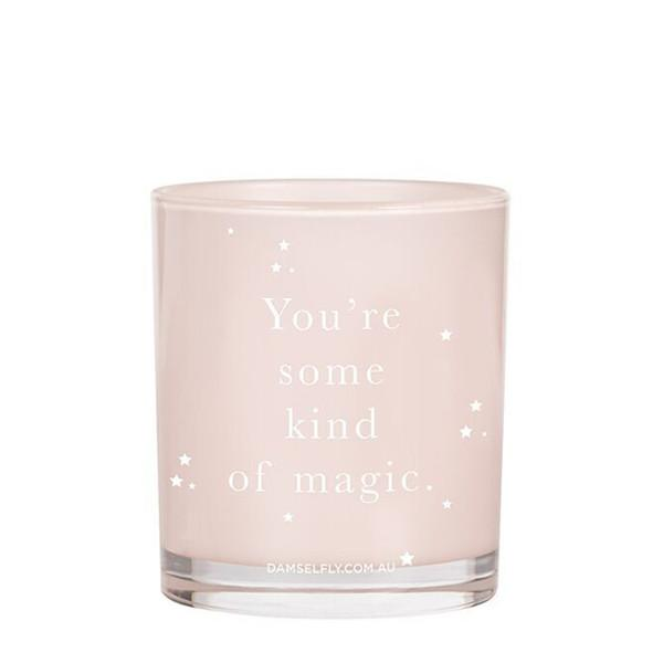 Damselfly Candle L - So Much Love