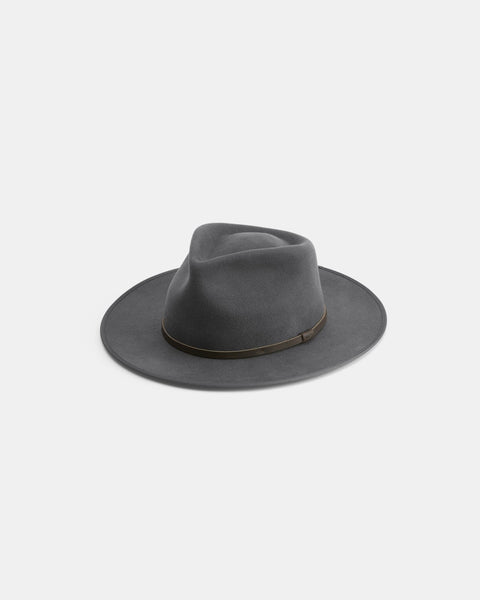 Will & Bear Calloway Fedora - Ash