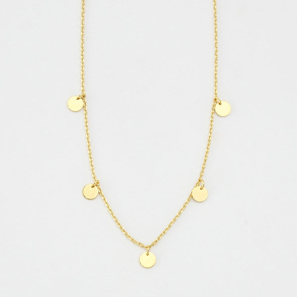 Jolie and Deen Charlotte Necklace Gold