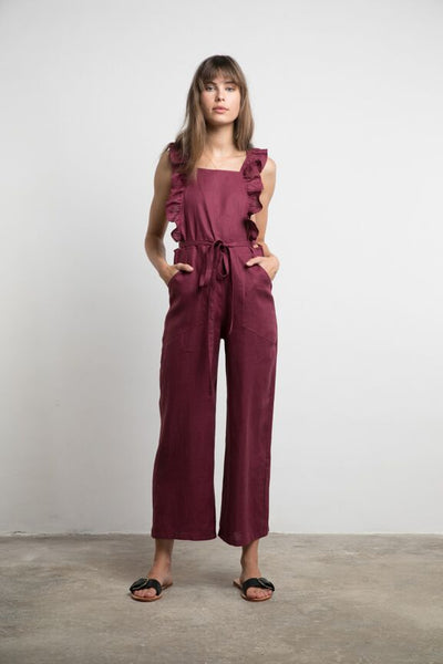 Lilya Kit Jumpsuit - Mulberry