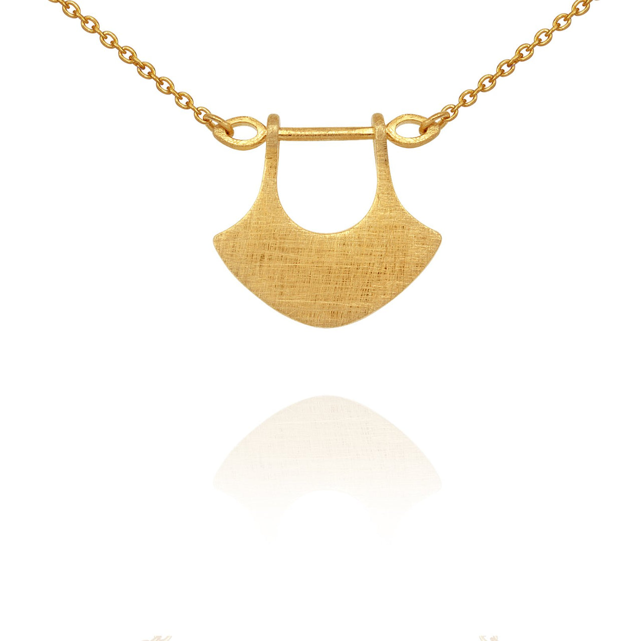 Temple of The Sun Alexis Necklace - Gold