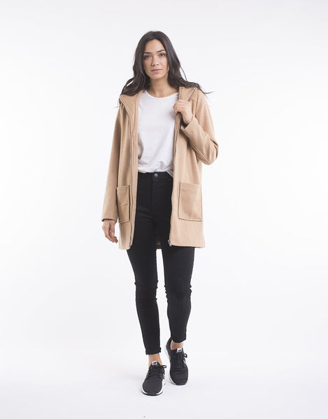 All About Eve Kayla Coat - Tan
