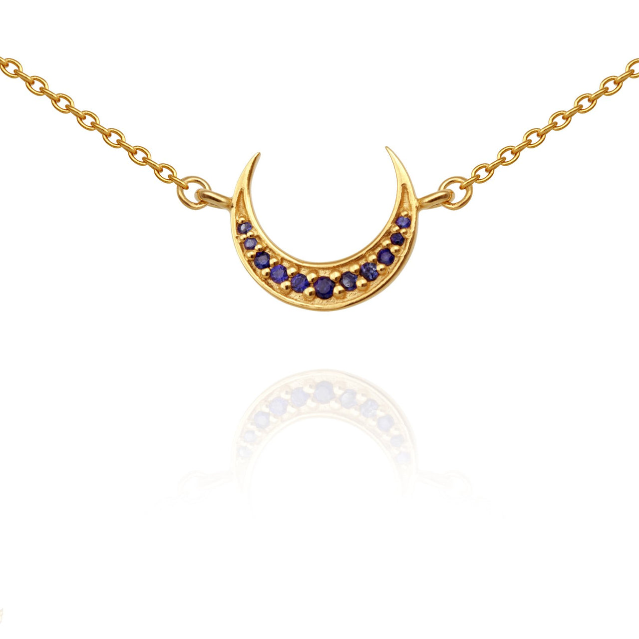 Temple of The Sun Aylin Necklace - Gold