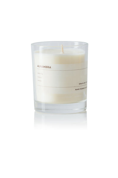 Grace and James Bare Collection Candle - Alhambra