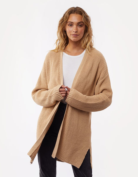 All About Eve Everyday Knit Cardi- Cream