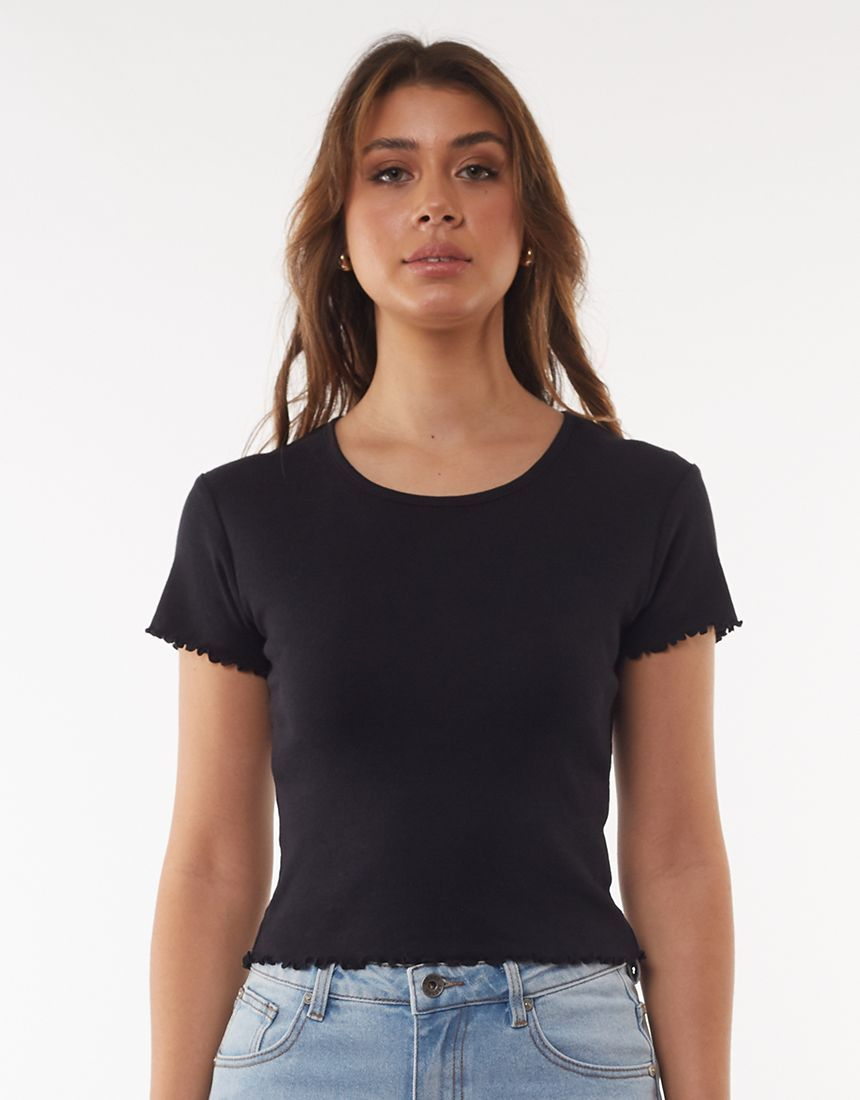 All About Eve Take You Away Tee - Black