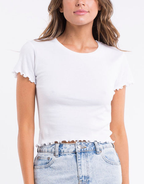 All About Eve Take You Away Tee - White