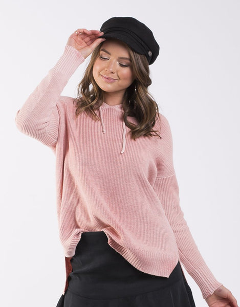 All About Eve Distinct Knit Hoodie