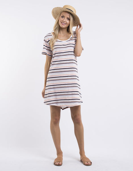 All About Eve Madelyn Jersey Dress - Stripe