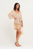 Arnhem Honey Kaftan - Coconut Cream