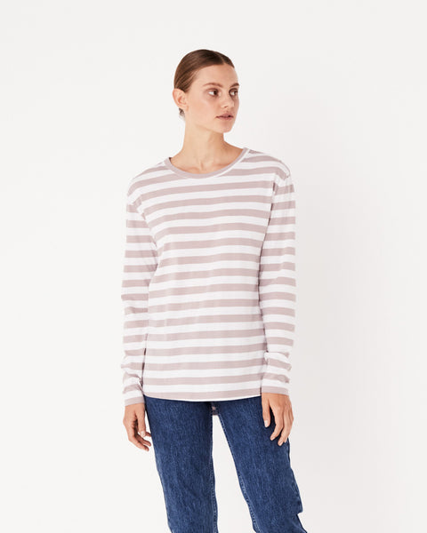 Assembly Label Bay Long Sleeve Tee - Fawn
