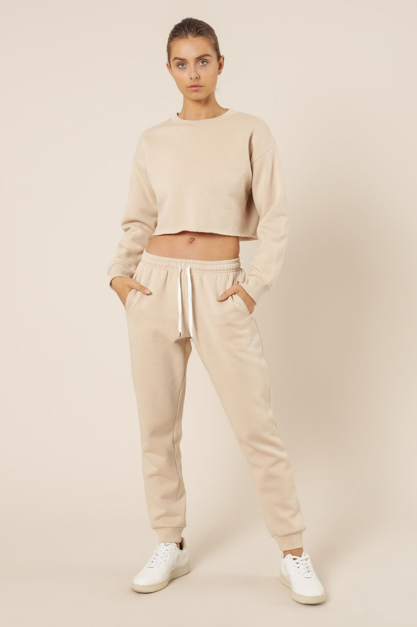 Nude Lucy Carter Classic TrackPant - Sand