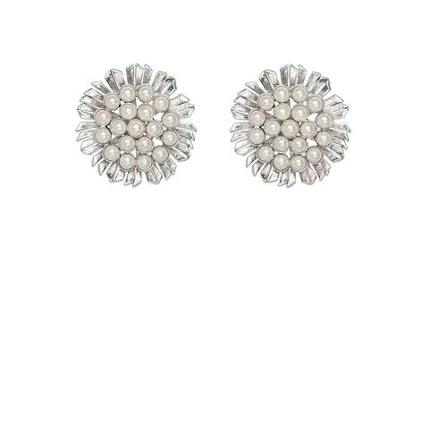 Kitte Coco Perla Earrings - Silver