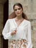 Kivari Dixie Lace Blouse - White