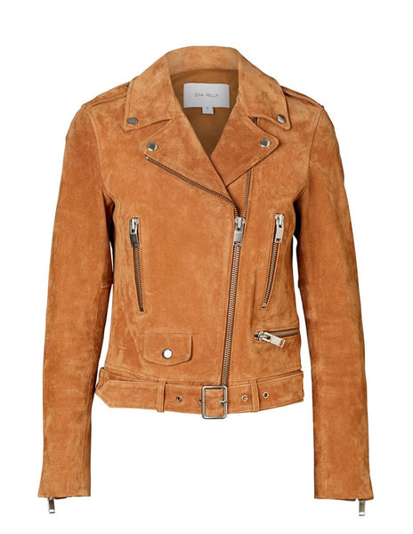 Ena Pelly New Yorker Jacket- Tan