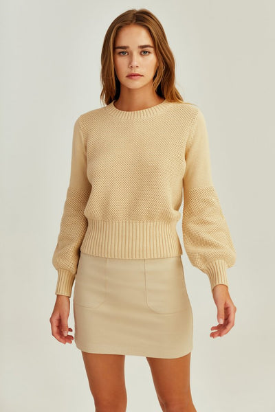 The Fifth Eva Knit - Sand