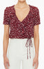 Faithfull The Brand Carayes Wrap Blouse- Betina Floral