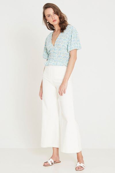 Faithfull The Brand Mona Top - Tilde Floral Print