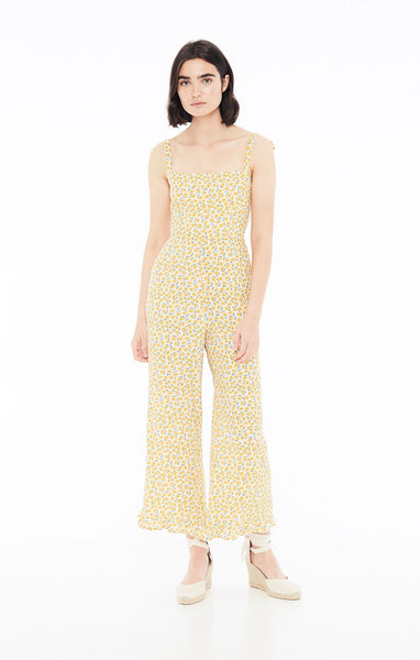 Faithfull The Brand Frankie Jumpsuit - Marguerite Floral