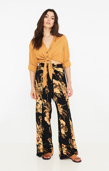 Faithfull The Brand Tiki Tiki Pants - Caribbean Print
