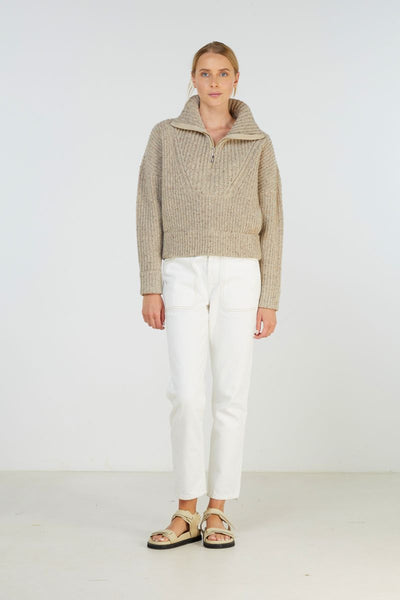 Elka Collective Covey Knit - Oatmarle