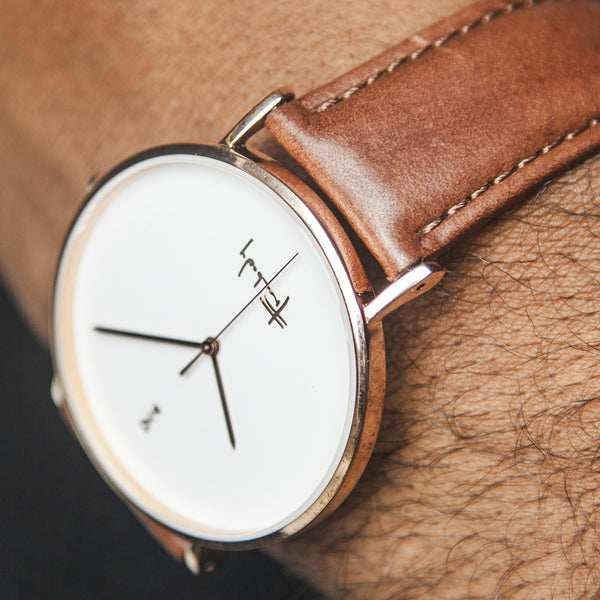 Freebody GS Series Watch - Tan Leather